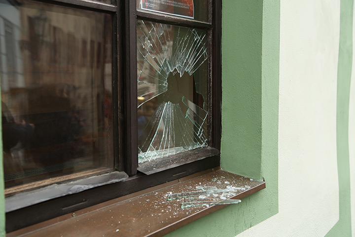A2B Glass are able to board up broken windows while they are being repaired in East Ham.